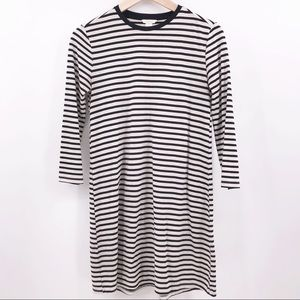 Forever 21 Small Striped T-shirt Dress
